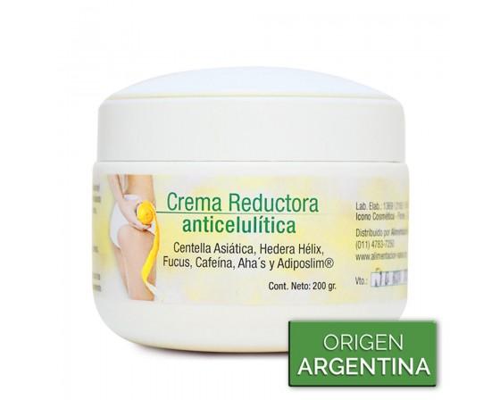 Crema Reductora Anticelulitica