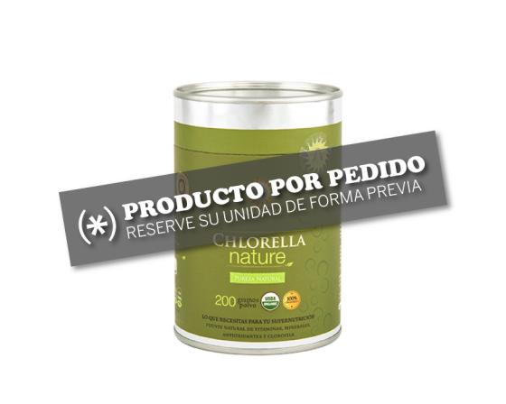 Chlorella polvo por pedido