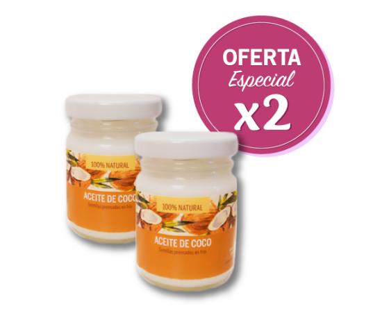 Aceite de Coco - Oferta x 2