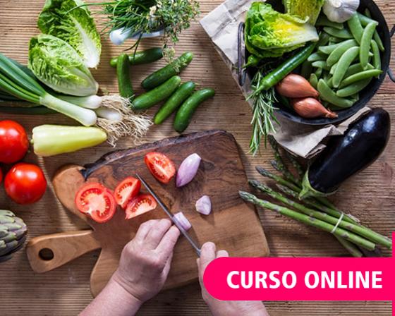 Cocina Vegetariana - Curso online intensivo