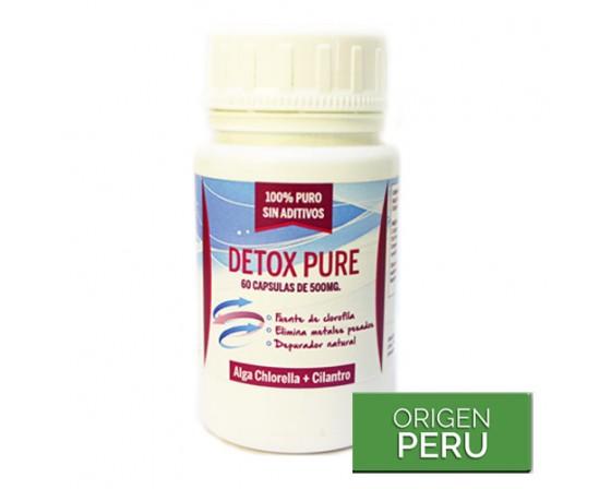 Detox pure cápsulas