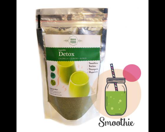 SuperMix Detox: Chlorella + Cilantro + Alfalfa