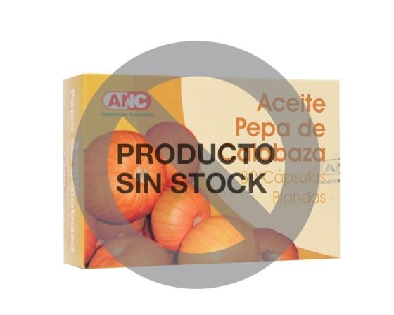 Aceite de Pepas de Calabaza en cápsulas - Producto fuera de stock