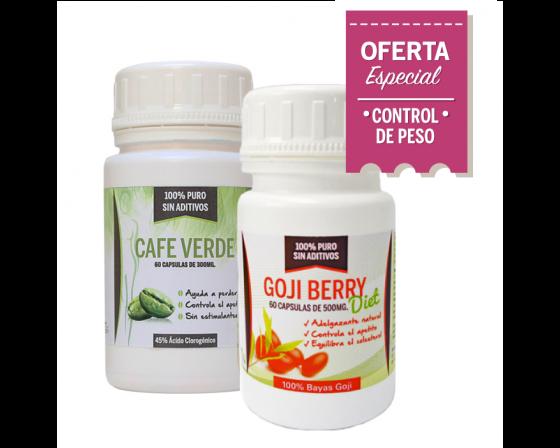Combo Adelgazante: Goji Berry + Café verde