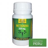 Metionina 500mg - 60 cápsulas