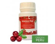 Arándano Rojo en cápsulas - Contra las bacterias urinarias y digestivas
