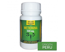 Metionina 500mg - 60 cápsulas