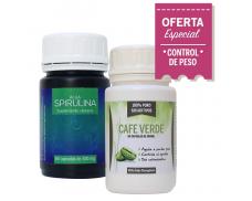 Combo Adelgazante 2: Alga Spirulina + Café Verde