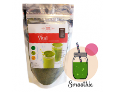 SuperMix Vital: Spirulina + Alfalfa + Linaza
