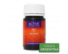 Zinc + Selenio Cápsulas - Active